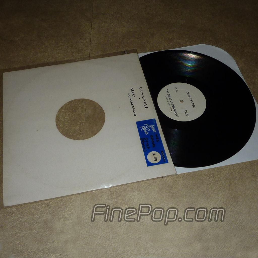 9f383cbab4 Frente de Camouflage The Great Commandment (Justin Strauss Remixes) (UK  Club Promo) ...